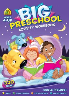Big Preschool Workbook (Ages 4-up)