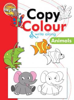 Copy Colour and Write Along Animals